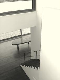 trappen afgestemd op de vloeren