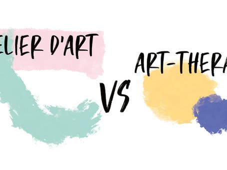 Quelle est la différence entre une art-thérapie et un cours d'art ?