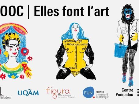 """""""Elles font l'art"""" - Le Centre Pompidou ouvre un cours en ligne gratuit consacré aux femmes artistes"""