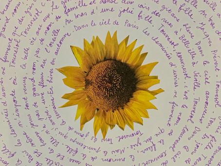 Invitation Créative n°2 - Écriture en spirale