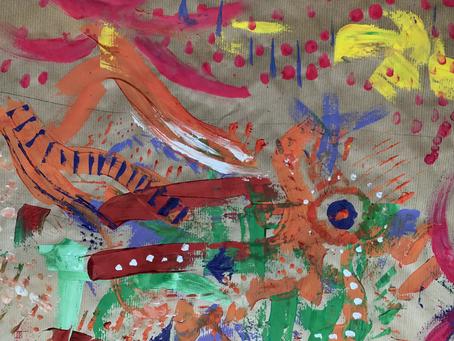 """Invitation Créative n°3 - Une fresque """"à la carte"""""""