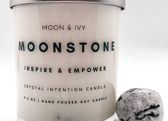 Moonstone Intention Candle