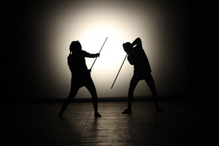 Tancredi e Clorinda in lotta