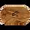 Thumbnail: Seifenhalter aus Olivenholz