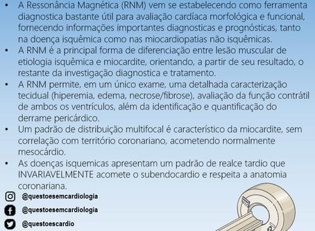 Uso da ressonância magnética em paciente com dor torácica