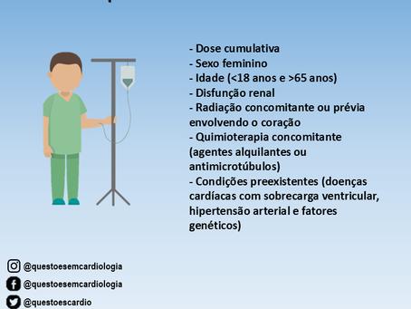 Cardiotoxicidade por antraciclinas: fatores de risco