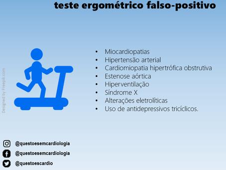 Situações que podem gerar um teste ergométrico falso-positivo