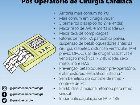 Fibrilação atrial no pós-operatório de cirurgia cardíaca
