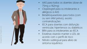 Recomendações para tratamento de idoso com DAC estável