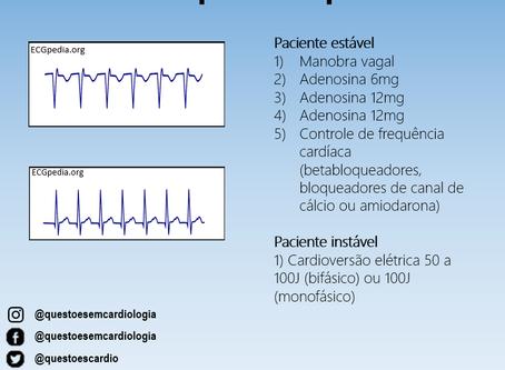 Tratamento da taquicardia supraventricular