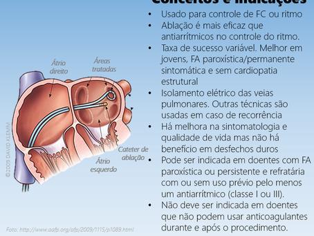 Ablação por cateter na fibrilação atrial: conceitos e indicações