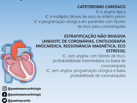 Investigação de cardiopatia isquêmica em doentes com insuficiência cardíaca