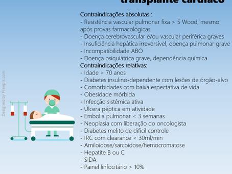 Contraindicações ao transplante cardíaco