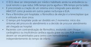 Atendimento pré-hospitalar no IAMCSST