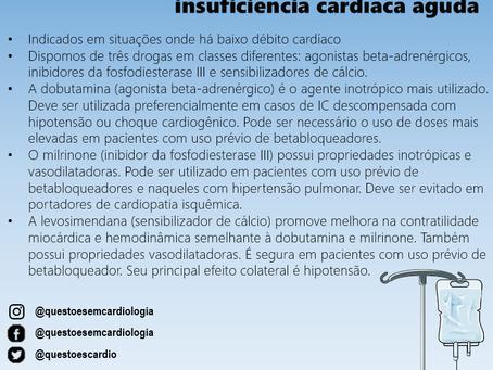 Agentes inotrópicos na insuficiência cardíaca aguda