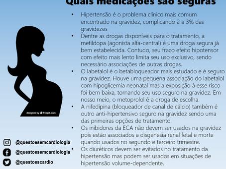 Hipertensão na gravidez: quais medicações são seguras?