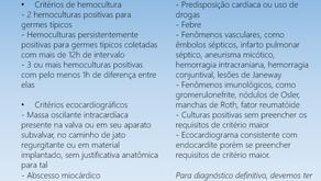 Como fazer o diagnóstico de endocardite?