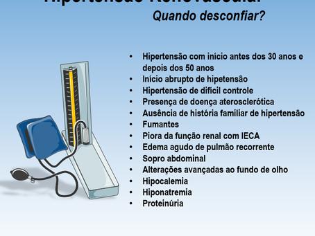 Quando desconfiar de hipertensão renovascular?