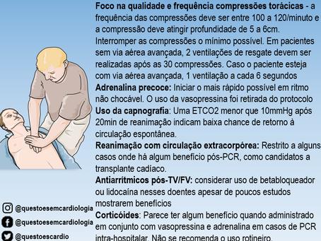 Reanimação cardiopulmonar: diretriz 2015