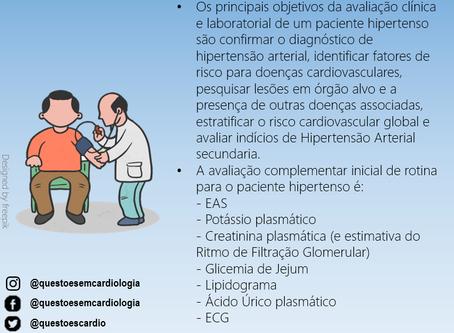Avaliação inicial do paciente hipertenso