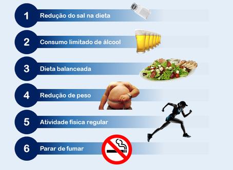 Mudanças no estilo de vida no tratamento da hipertensão arterial