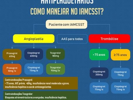 IAMCSSST: Como manejar os antiplaquetários?