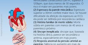 Marcadores de alto risco de morte súbita na cardiopatia hipertrófica