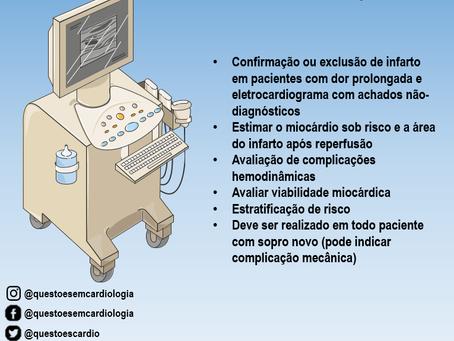 Ecocardiografia no infarto agudo