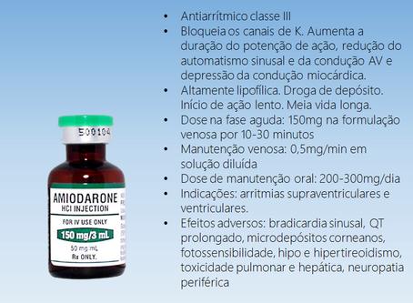 Como se usa e quais os cuidados com a amiodarona?