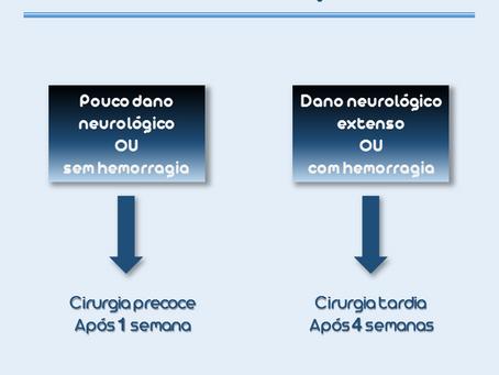 Paciente com endocardite e embolização cerebral. Quando operar?