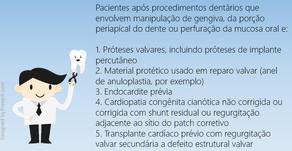 Novas recomendações para profilaxia de endocardite infecciosa