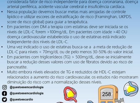 Colesterol e diabetes: cuidados especiais