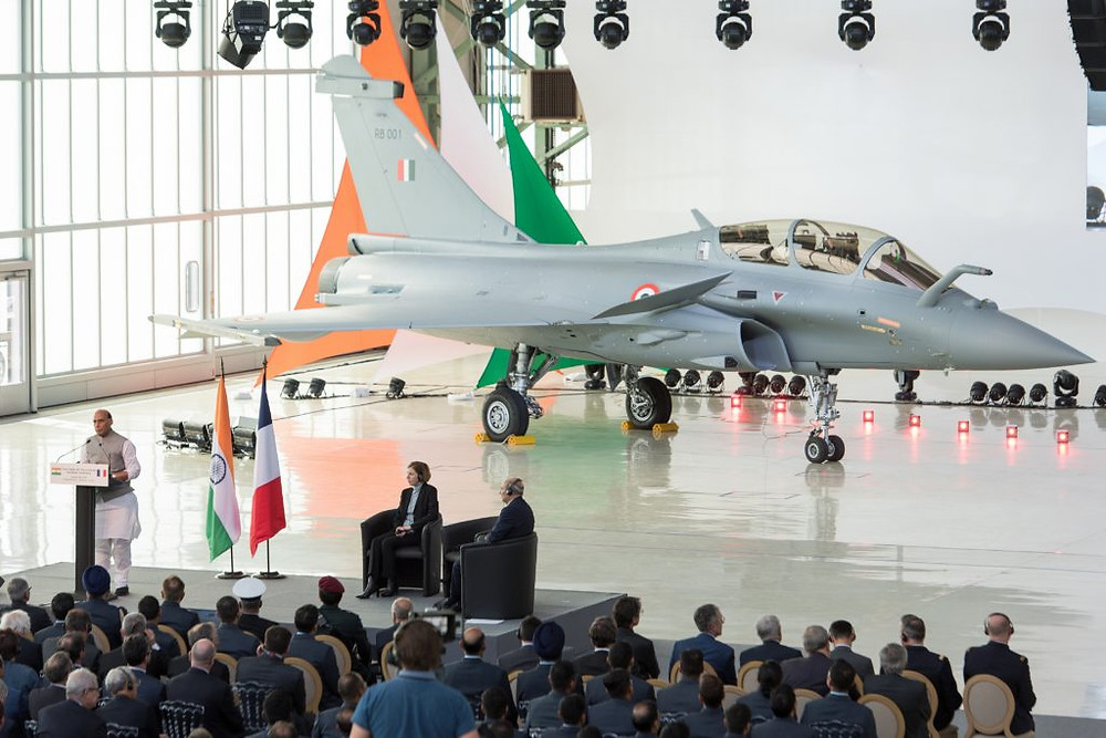 Dassault Aviation lors de la livraison de son premier Rafale au Qatar