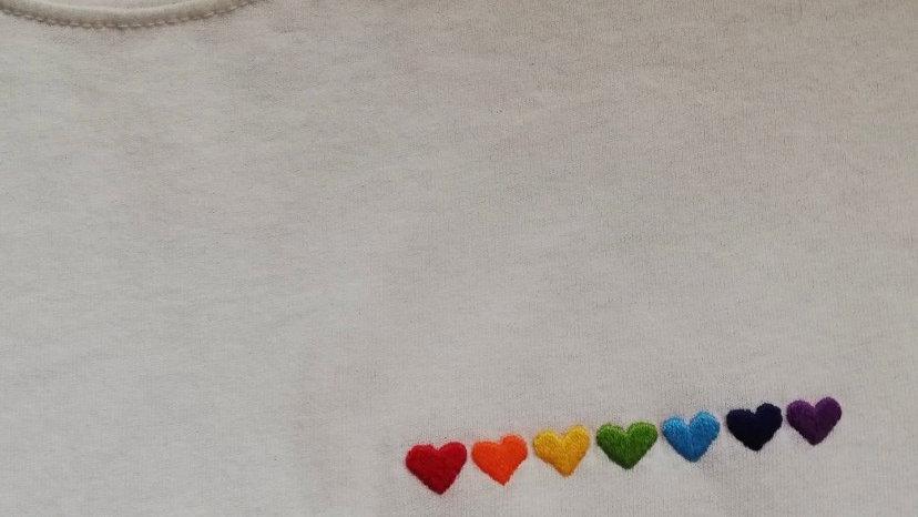 T-shirt arcobaleno