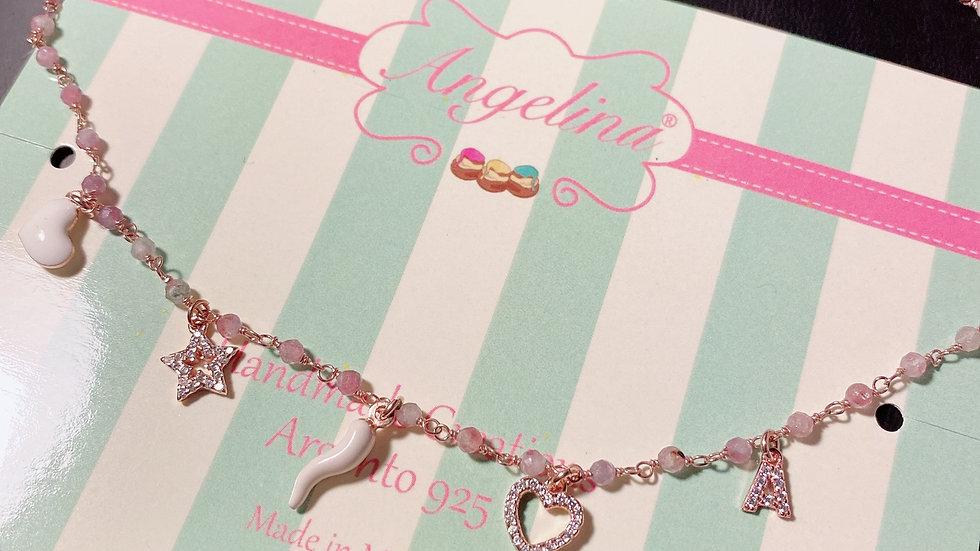 Collana pink lucky