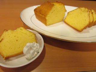 8月20日 管理栄養士レシピ《 はちみつレモンのパウンドケーキ 》