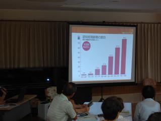 地域交流センターを「認知症サポーター養成講座」で使用していただきました!