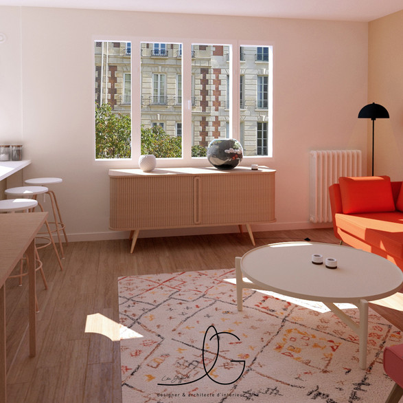 """ Un appartement Parisien """