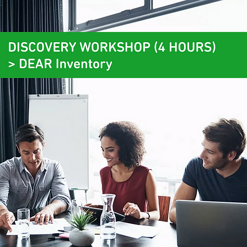DEAR Inventory Discovery Workshop