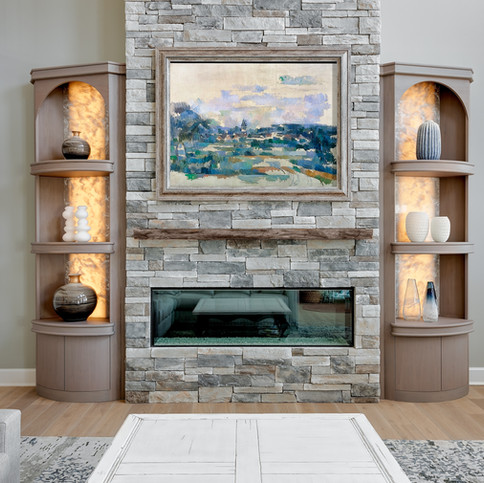 Northport Fireplace Built-ins