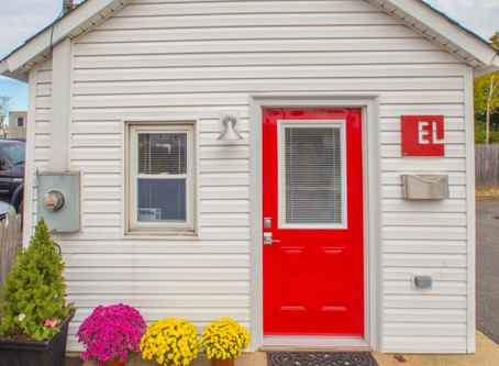 Goodbye to our Red Door, Hello to our New Look
