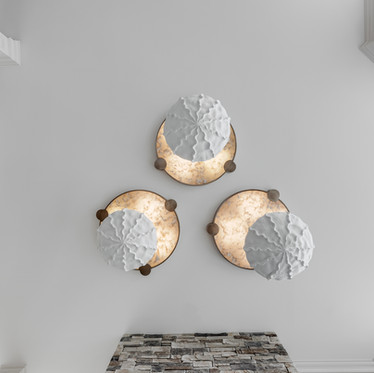 Backlit Quartz Ceiling Fixtures