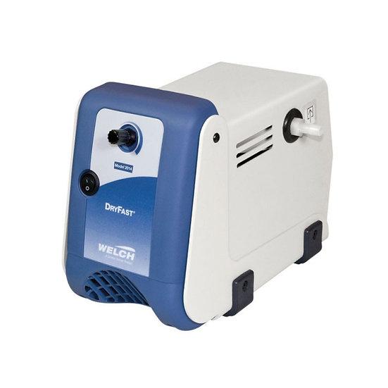 Welch Ptfe Dry Pump, Collegiate, 40 Torr, 29L/Min, 230V / 50 Hz 1Ph
