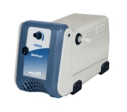 Welch Ptfe Dry Pump 9 Torr, 25L/Min  100V 50/60Hz 1Ph