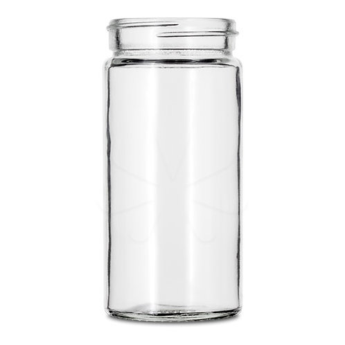 60 Dram Straight Sided Glass Jar