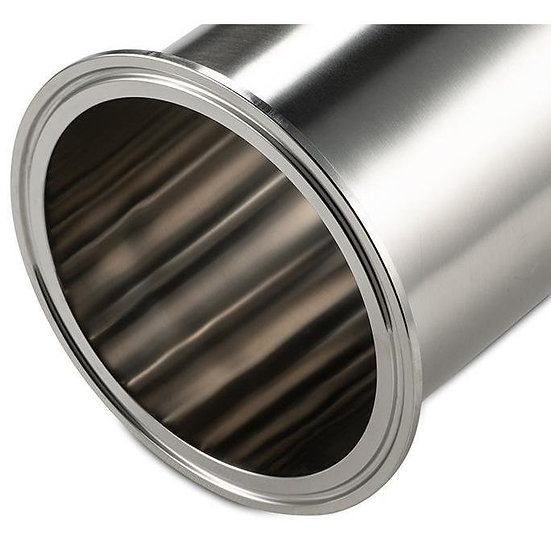 """4"""" Tri Clamp 316 Stainless Steel Spools"""