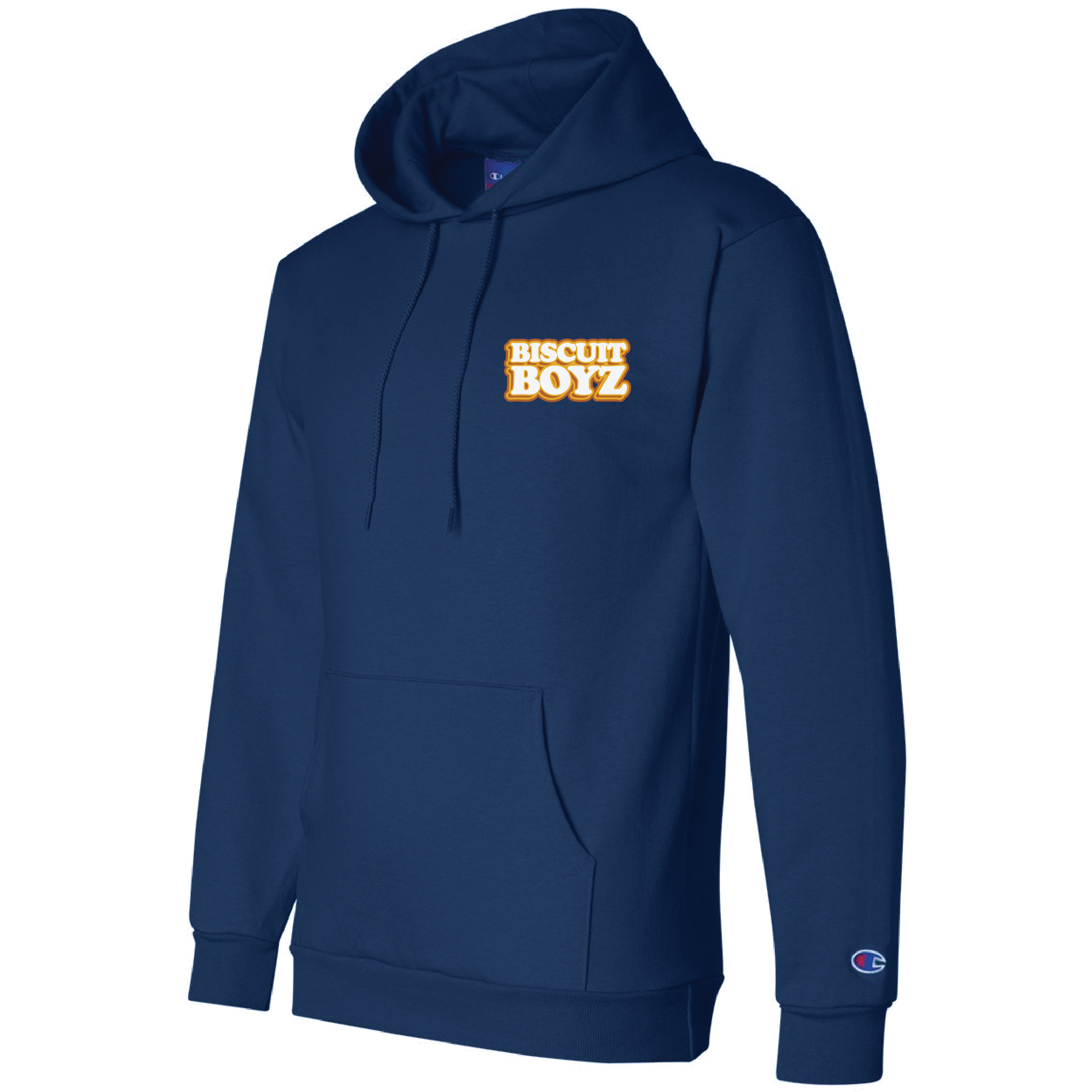 Biscuit Boyz Blue Hoodie Square