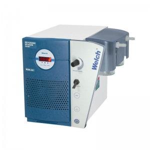 Welch Self-Cleaning Dry Vacuum System W/Digital Gauge, 100V 50/60Hz 1Ph,2 Torr