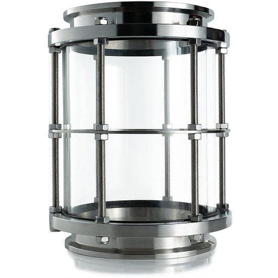 """6"""" Tri-Clamp Tall Sight Glass"""