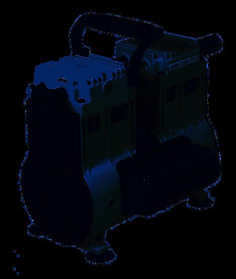 Welch Wob-L Dry Pump, 115V 60Hz 1Ph, Ul/Csa, Nw25 W/Hose Barb